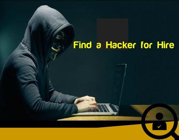 find a hacker
